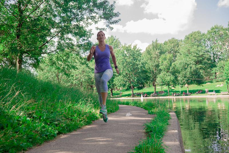 Annie Cap Running