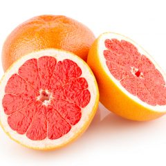 Half a grapefruit in the morning for a better day!